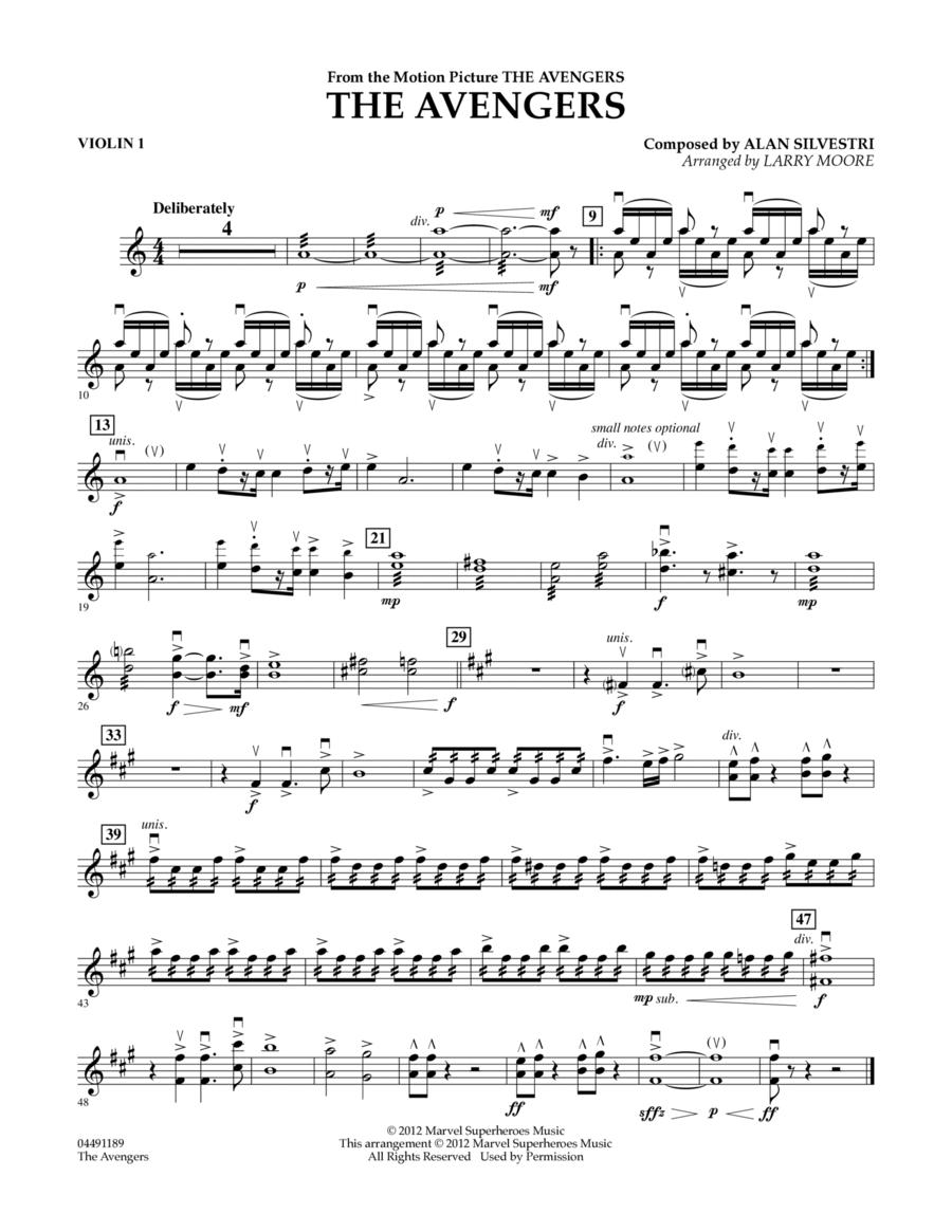 The Avengers (Main Theme) - Violin 1