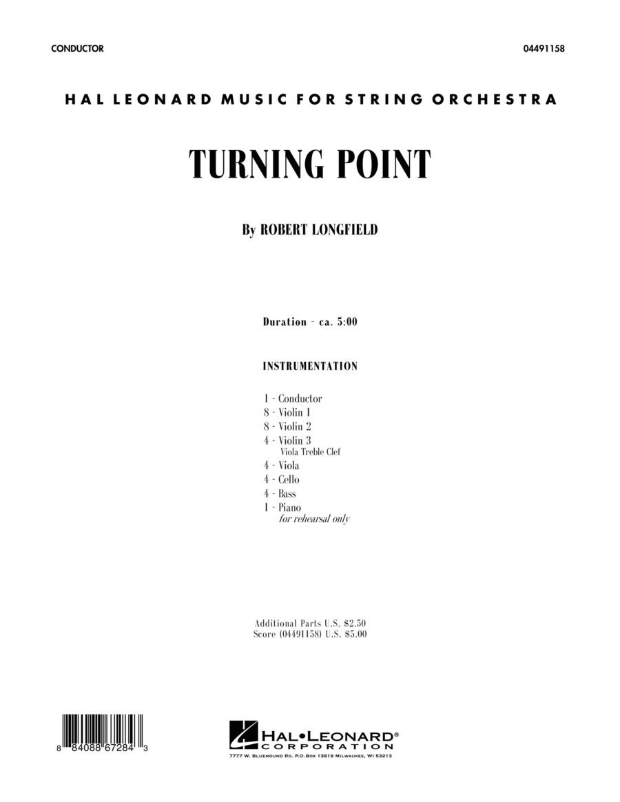 Turning Point - Full Score