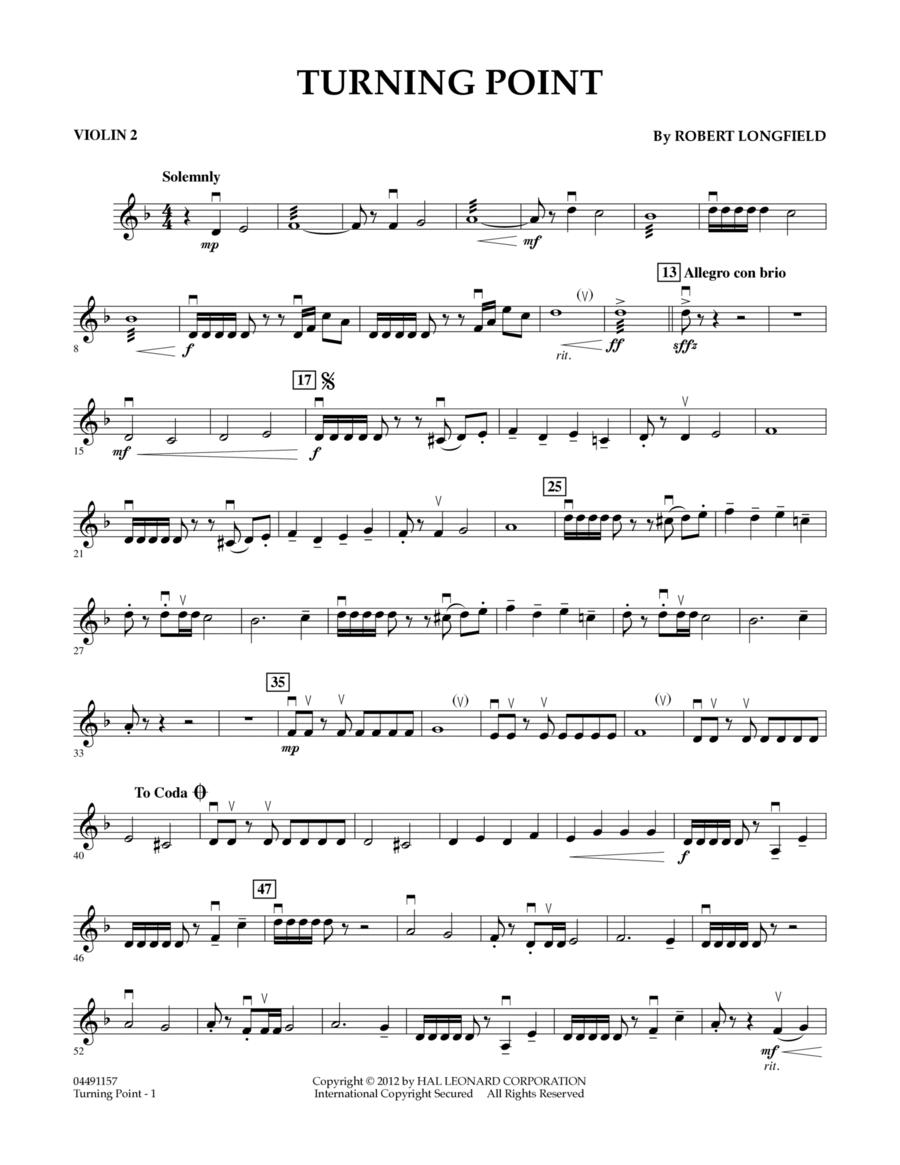 Turning Point - Violin 2
