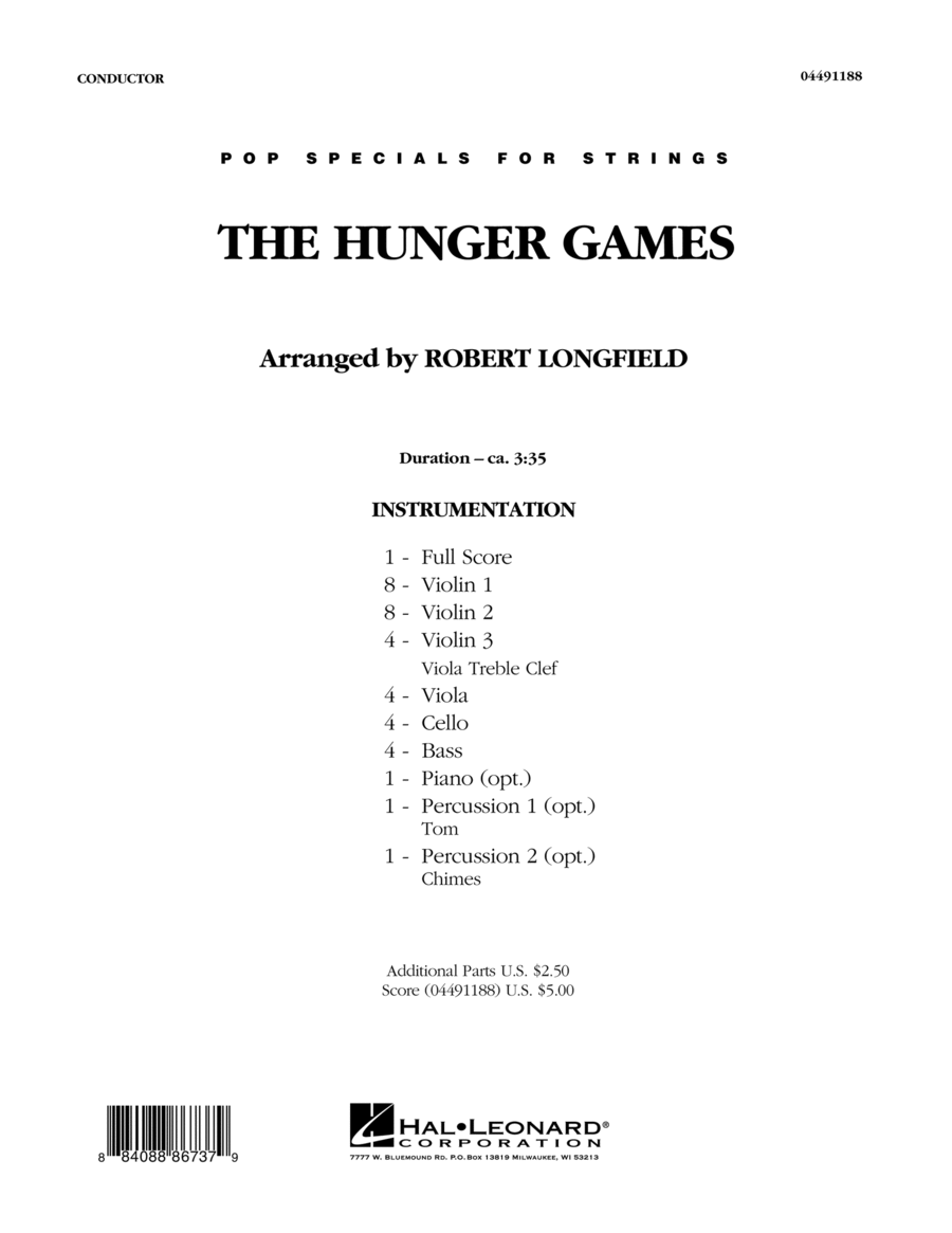 The Hunger Games - Full Score
