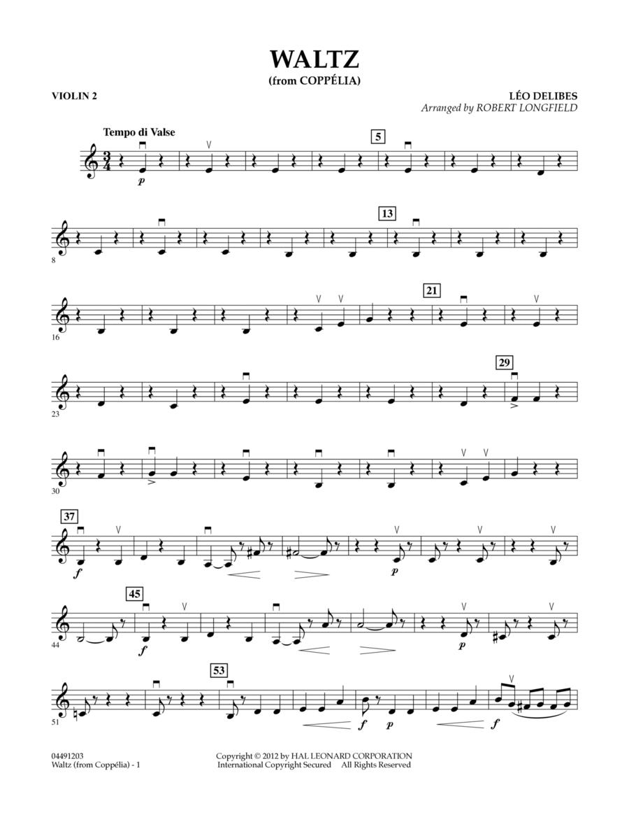 Waltz (from Coppelia) - Violin 2