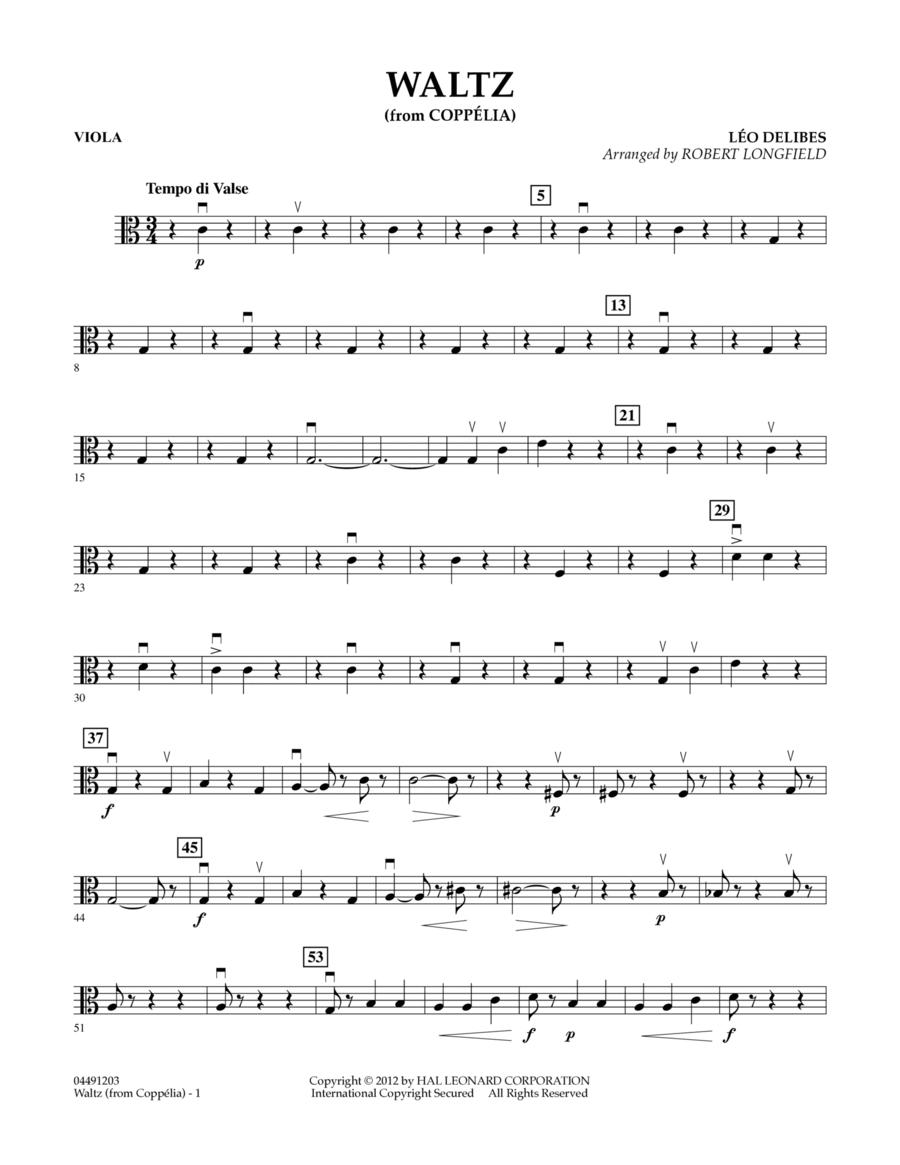 Waltz (from Coppelia) - Viola