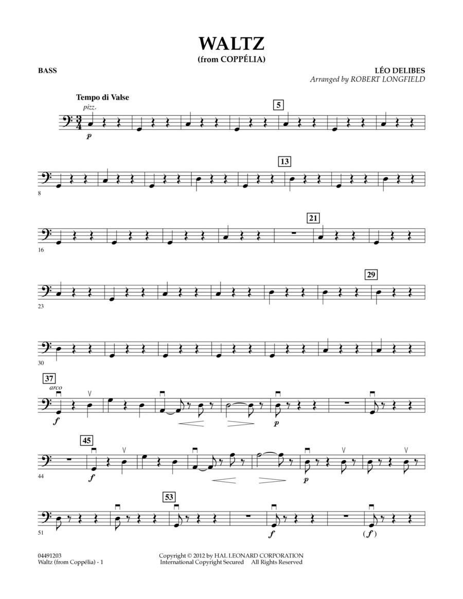 Waltz (from Coppelia) - Bass