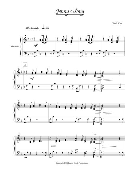 Jenny's Song