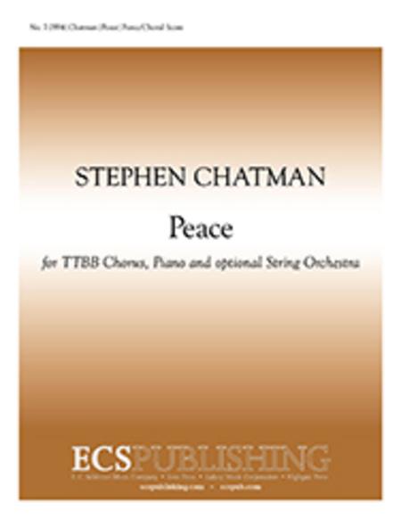 Peace (Piano/Choral Score)