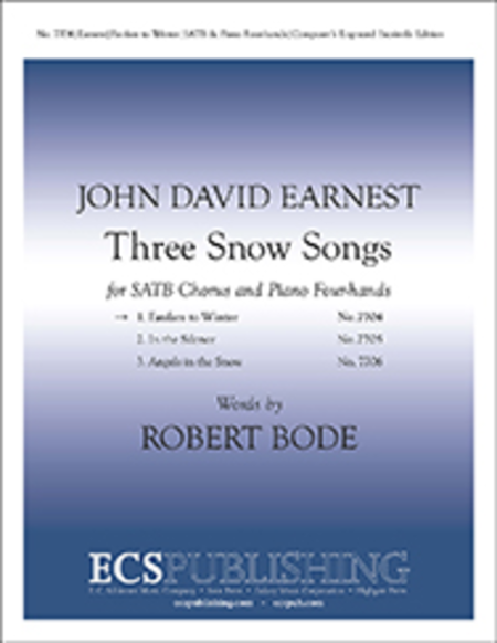 Three Snow Songs: 1. Fanfare to Winter
