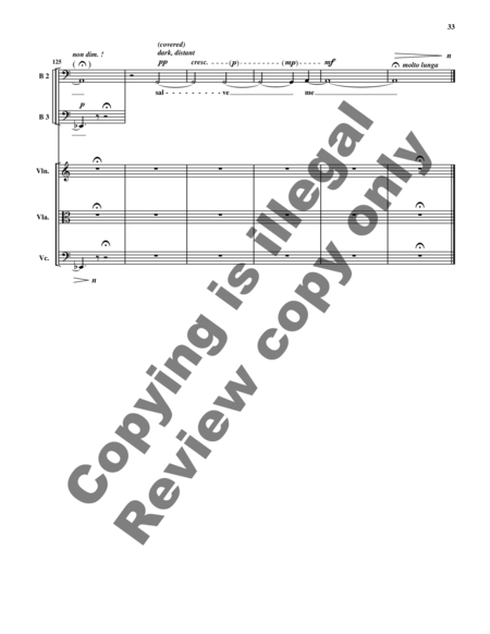 From the Abyss (Full Score)