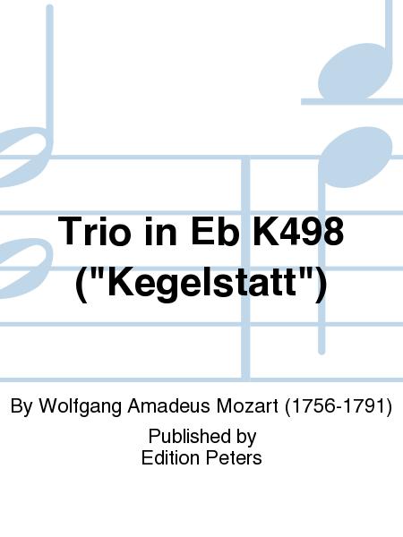 Trio in Eb K498 (