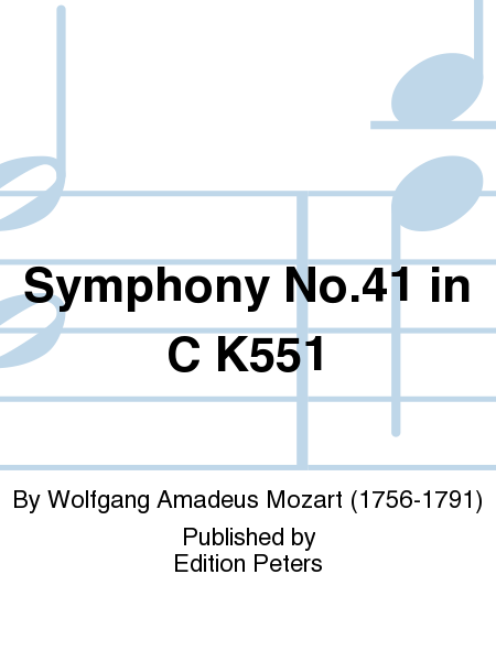Symphony No.41 in C K551