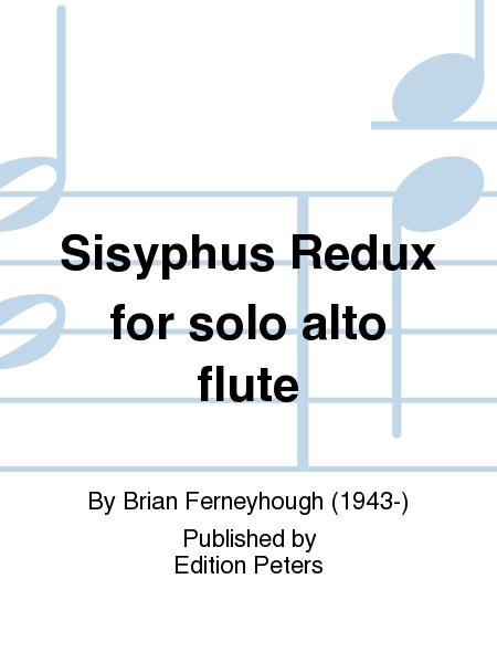 Sisyphus Redux for solo alto flute