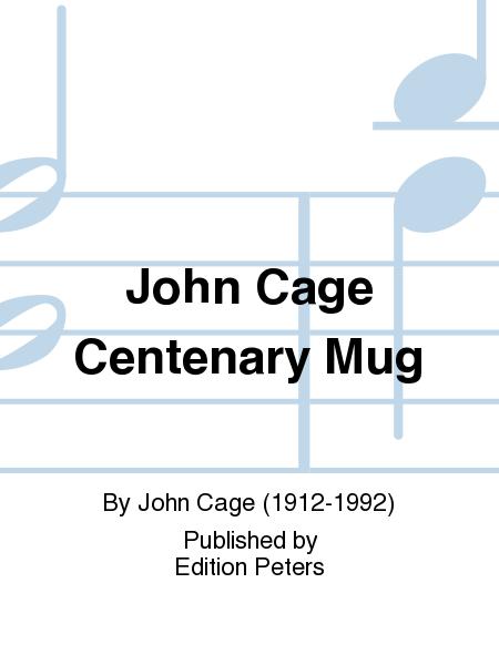 John Cage Centenary Mug