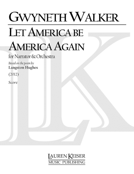 the poem let america be america again 'let america be america again' – langston hughes' famous poem makes for a powerful 4th of july video.