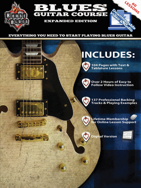 House of Blues Blues Guitar Course - Expanded Edition
