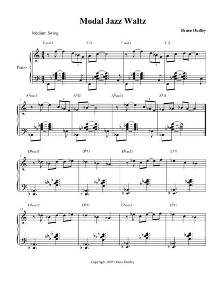 Modal Jazz Waltz