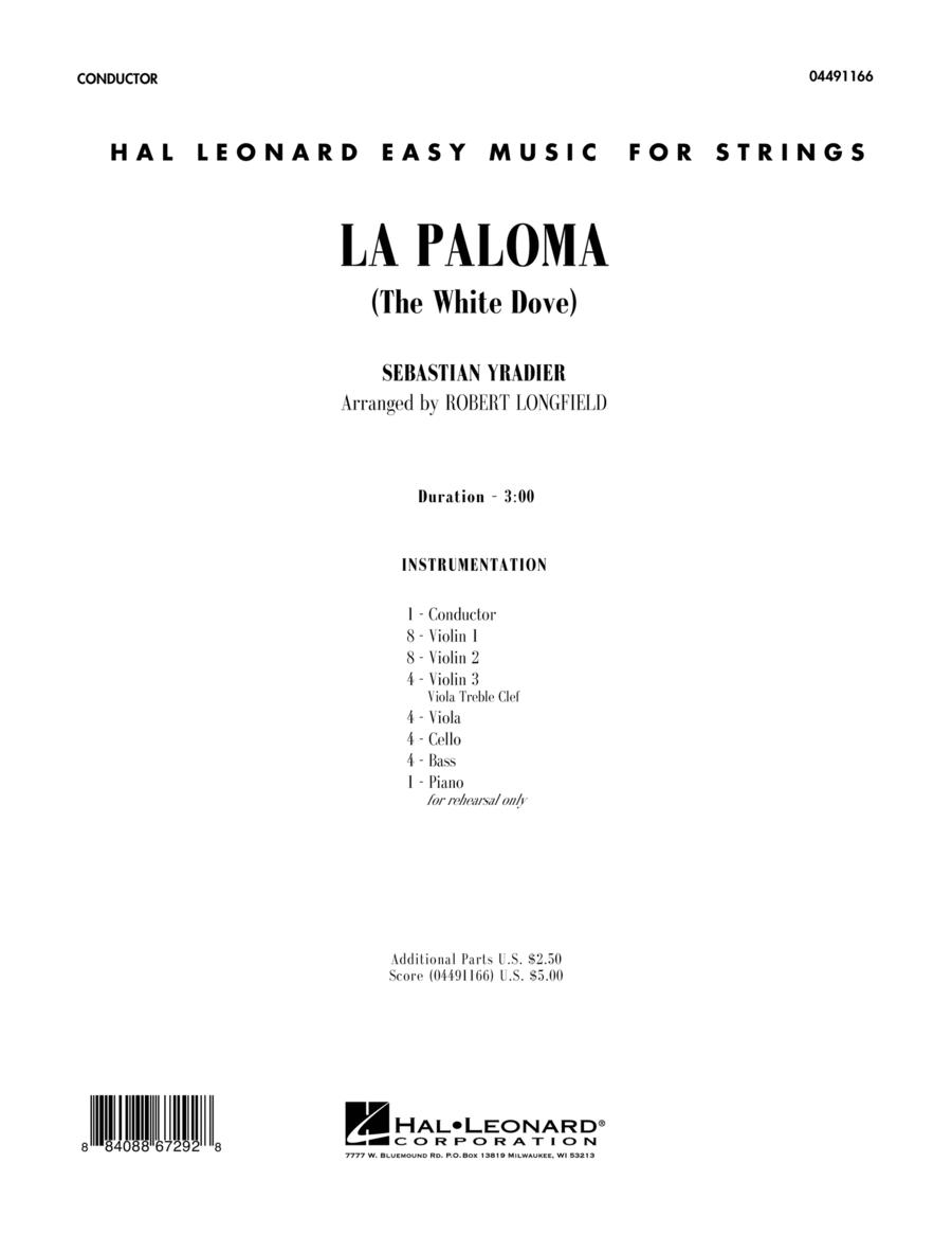 La Paloma (The White Dove) - Full Score