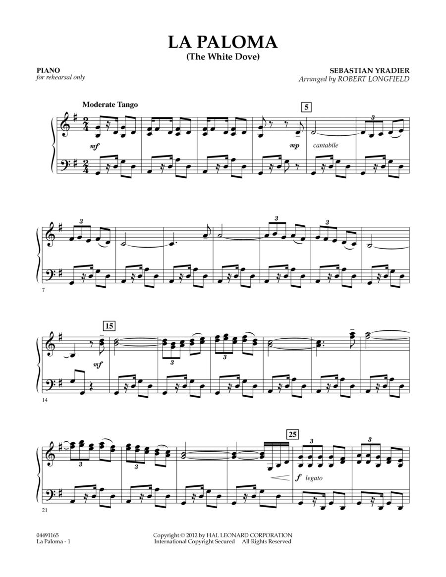 La Paloma (The White Dove) - Piano
