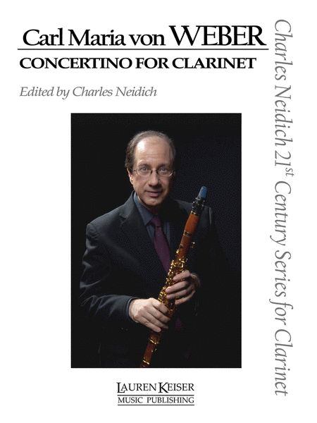 Carl Maria von Weber - Concertino for Clarinet