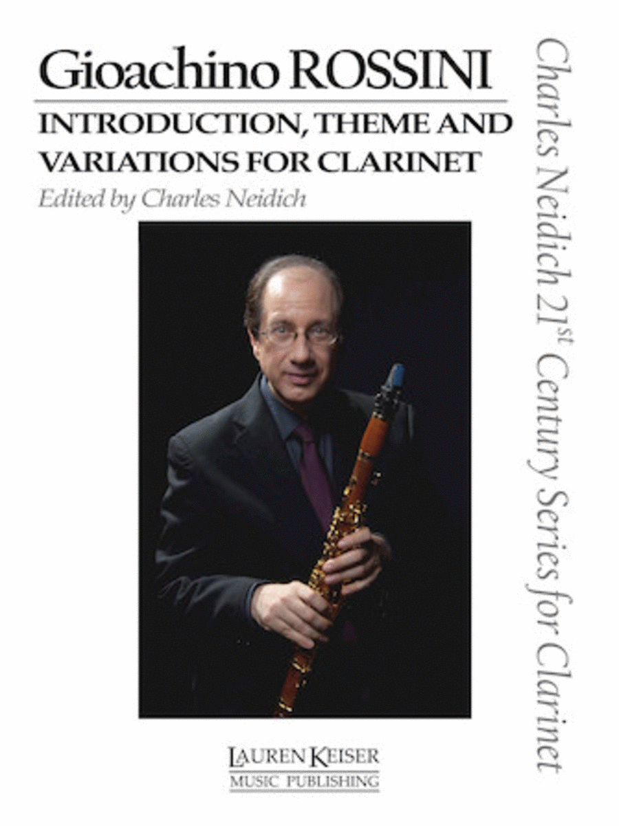 Gioachino Rossini - Introduction, Theme and Variations for Clarinet