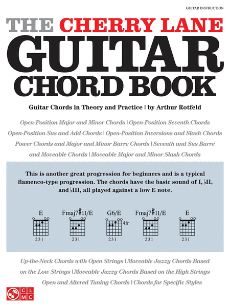 The Cherry Lane Guitar Chord Book