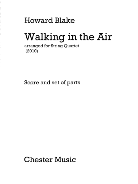 Walking in the Air, Op. 615 (from The Snowman)