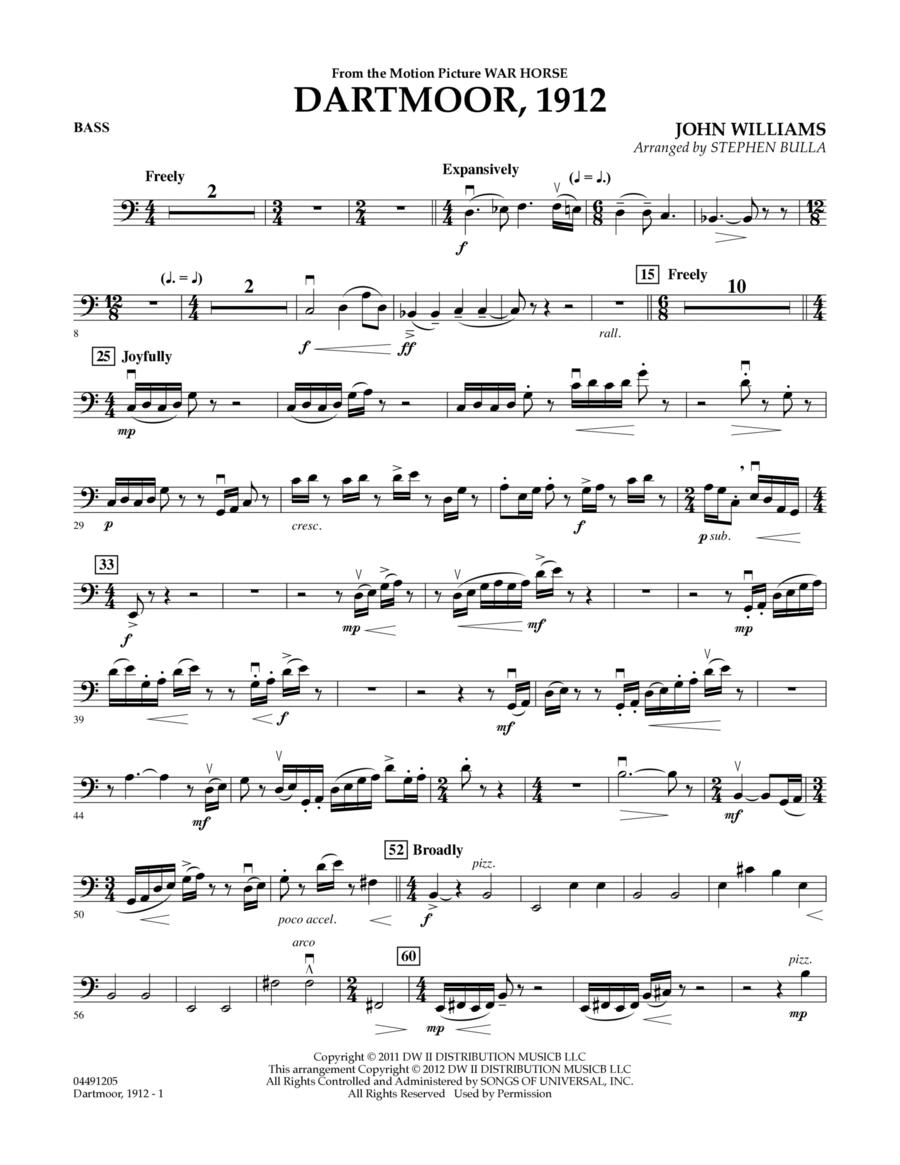 Dartmoor, 1912 (from War Horse) - Bass