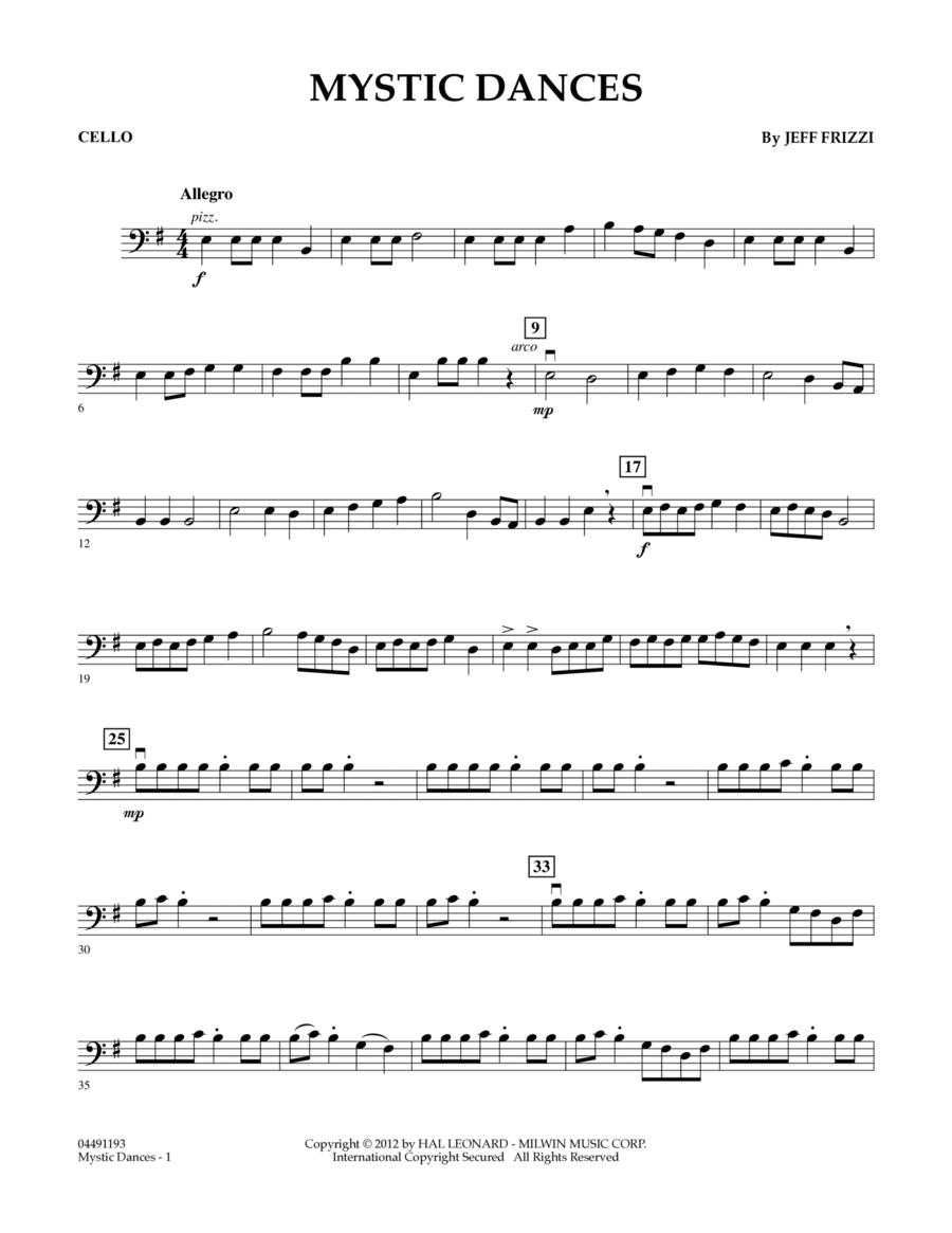 Mystic Dances - Cello