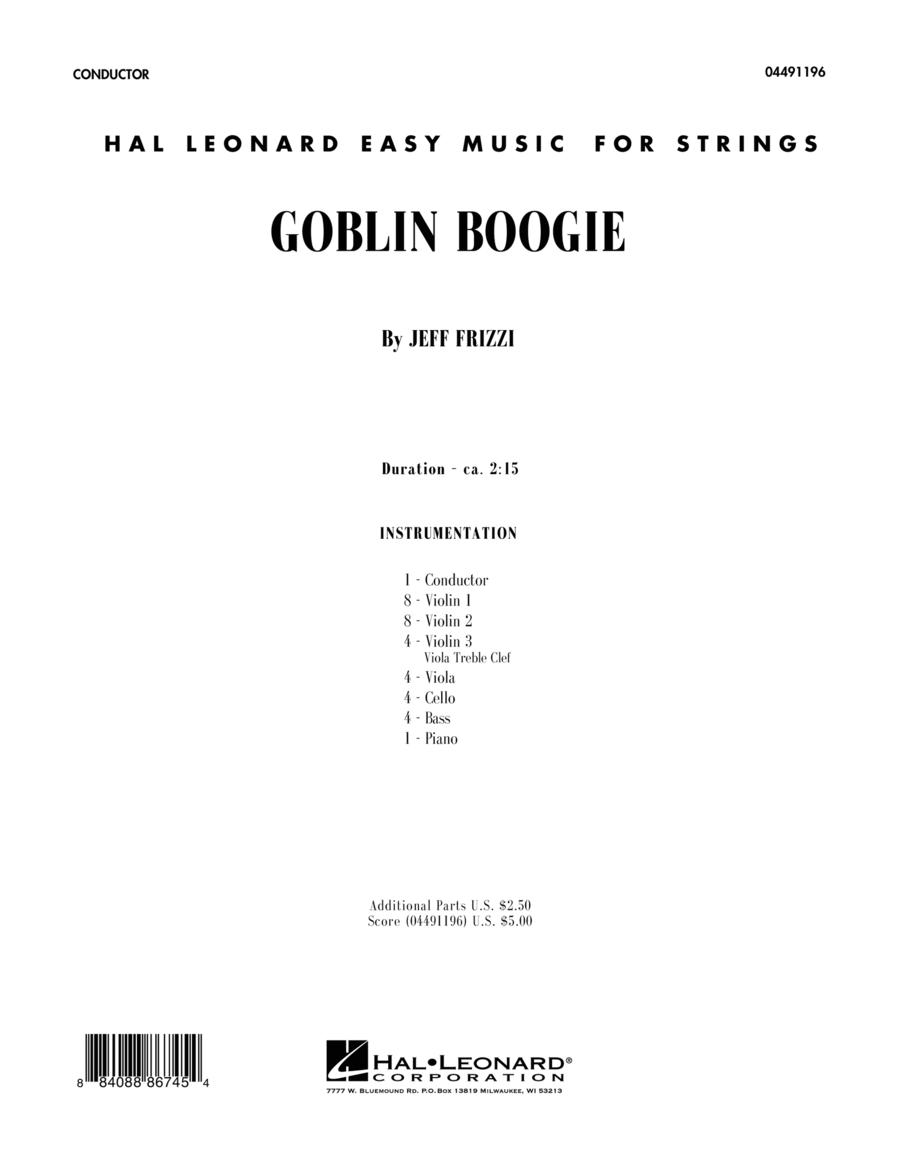 Goblin Boogie - Full Score