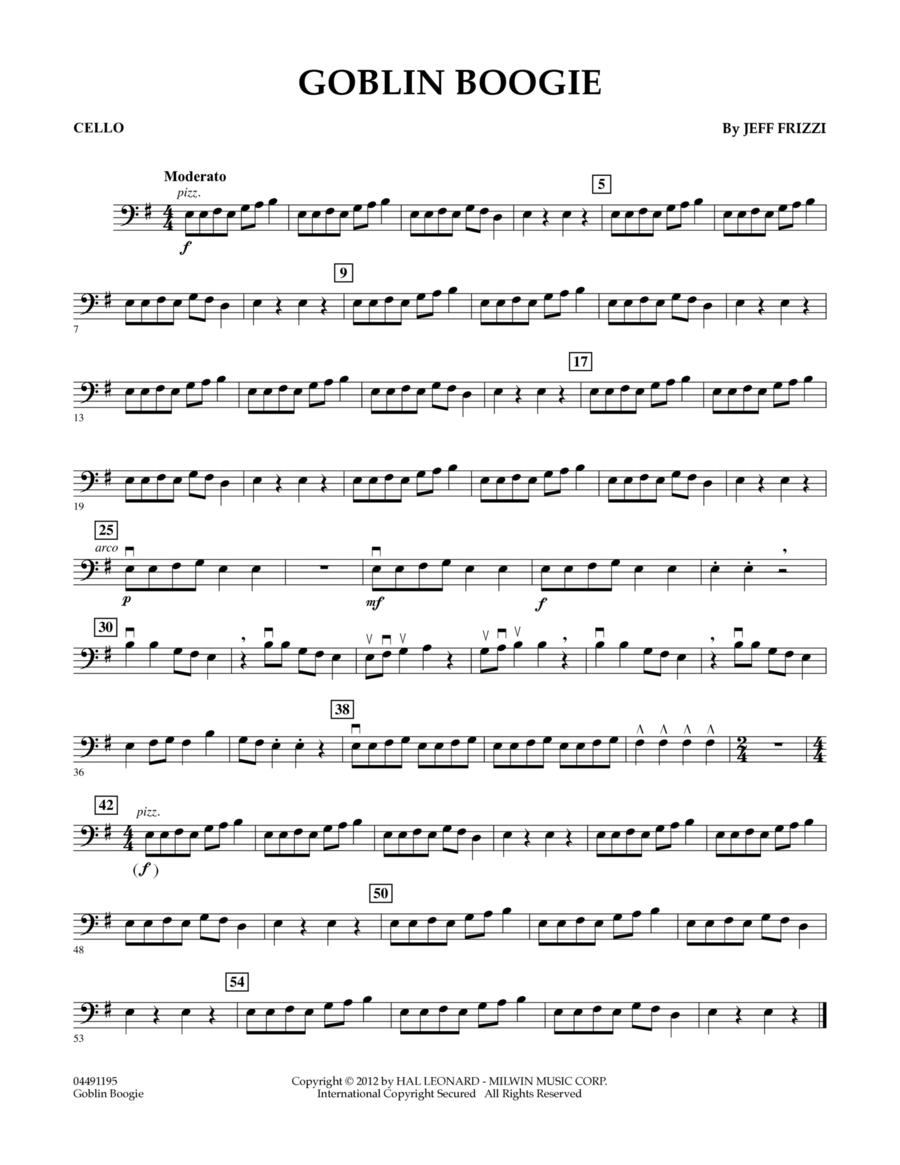 Goblin Boogie - Cello