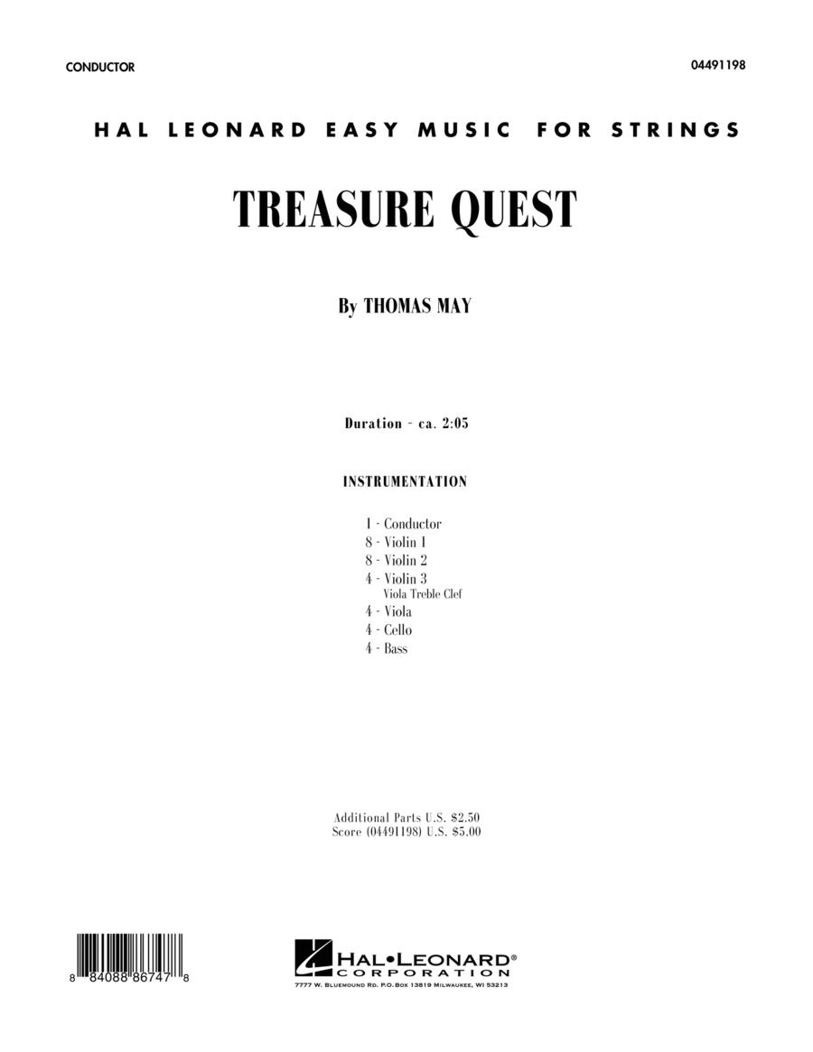 Treasure Quest - Full Score