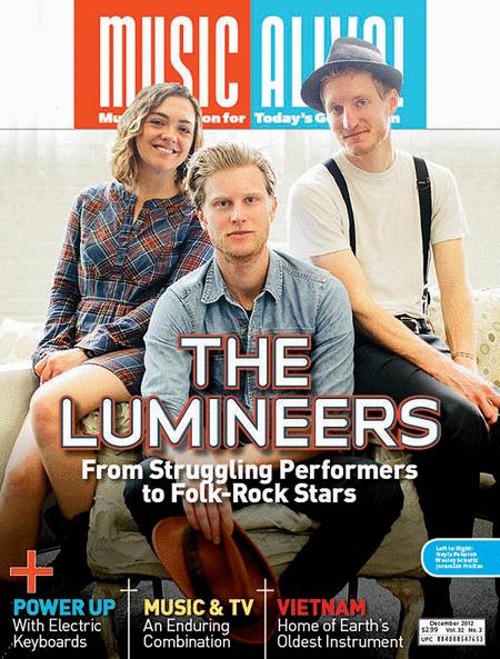 Music Alive Magazine - December 2012