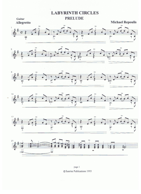 Labyrinth Circles Prelude