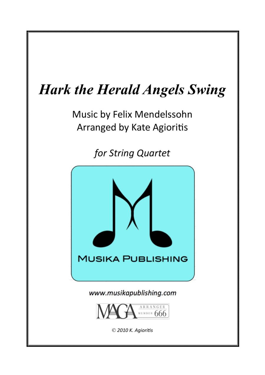 Hark the Herald Angels Swing - Jazz Carol for String Quartet
