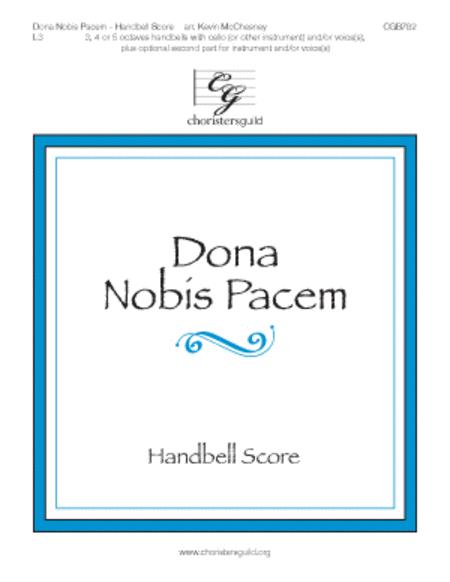 Dona Nobis Pacem - Handbell Score