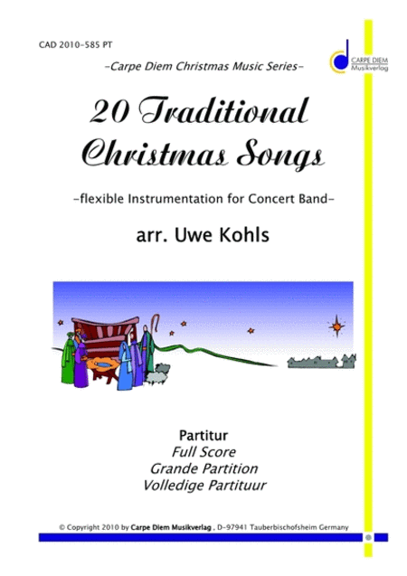 20 Traditional Christmas Songs - Score