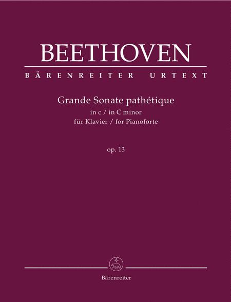 Grande Sonate pathetique C minor op. 13