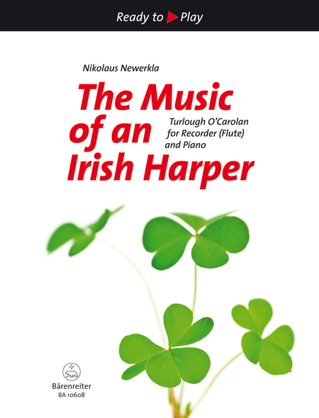 The Music of an Irish Harper for Recorder (Flute) and Piano (second part ad lib.)