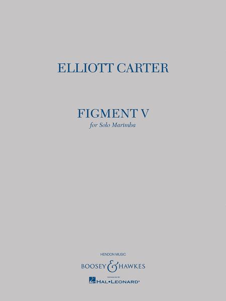 Elliott Carter - Figment V
