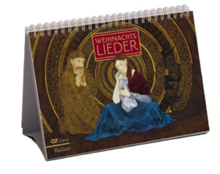 Weihnachtsliederkalender zum Aufstellen