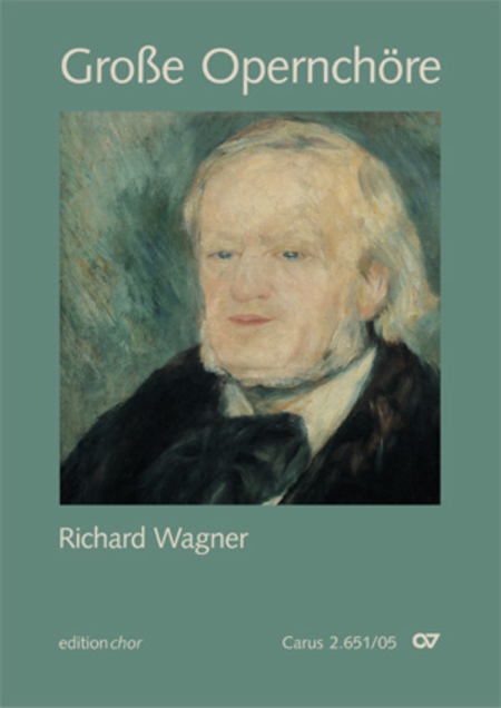Chorbuch grosse Opernchore - Richard Wagner (editionchor)