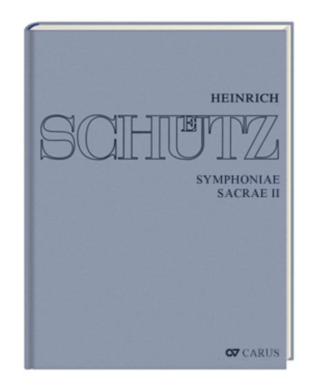 Symphoniae sacrae II (Stuttgart Schutz Edition, vol. 11)