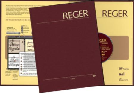 Reger-Werkausgabe, vol. I/3: Fantasias, Fugues, Variations, Sonatas, Suites II
