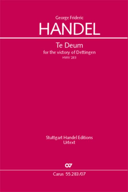 Te Deum for the Victory of Dettingen