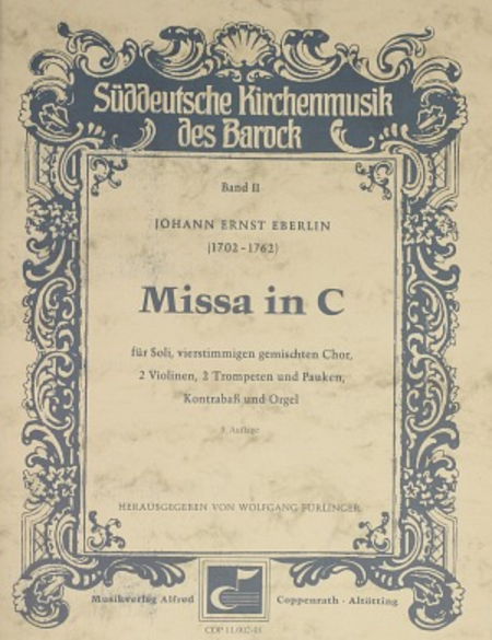 Missa in C (Mass in C major)