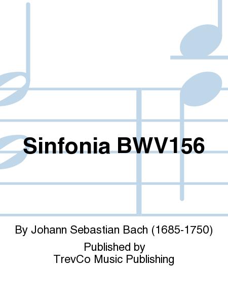 Sinfonia BWV156