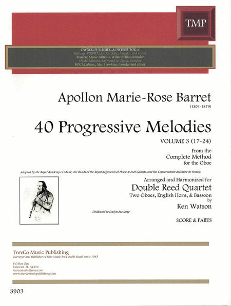 40 Progressive Melodies, Volume 3