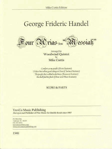4 Arias from Messiah