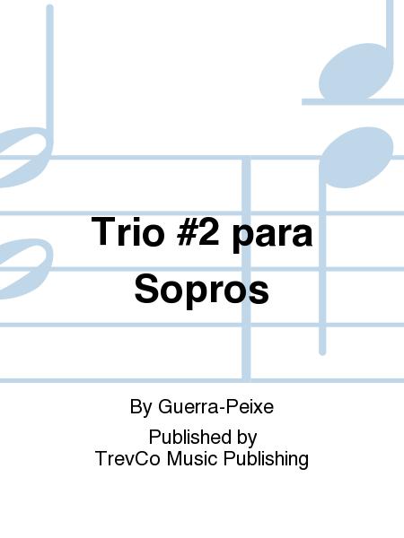 Trio #2 para Sopros