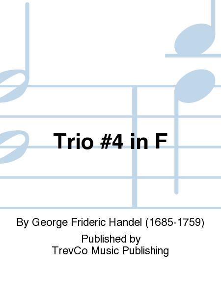 Trio #4 in F
