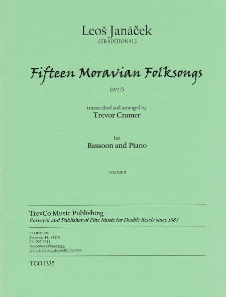 15 Moravian Folksongs