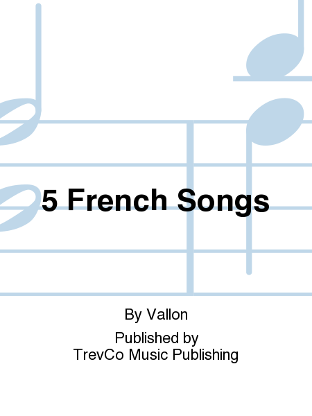 5 French Songs